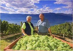 George & Trudy Heiss, Gray Monk Estate Winery
