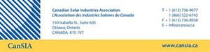 Canadian Solar Industries Association