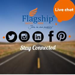 Stay Connected: Request a quote from online chat & follow us on social media