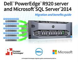 Learn about the potential benefits of upgrading your server technology with the Dell PowerEdge R920 and Microsoft SQL Server 2014.