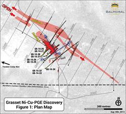 Figure 1: Grasset Nickel Discovery, Plan Map