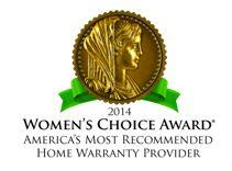 American Home Shield is proud to announce that the company has been chosen to receive the 2014 Women's Choice Award.