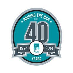 Flow turns 40, celebrating 40 years of raising the bar.