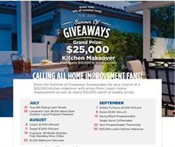 sweepstakes, giveaway, kitchens, home improvement, appliances, upgrade, real estate