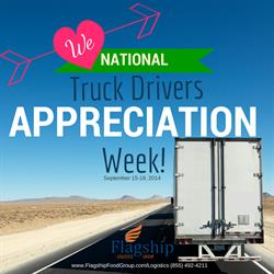 National Truck Drivers Appreciation Week and Carrier Scholarship Program