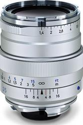 Zeiss 35mm f/1.4 Distagon T* ZM Lens for M-Mount in Silver