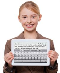 Student Using Co:Writer Universal