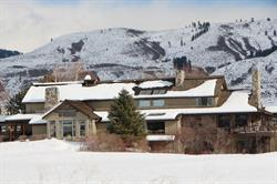 Wintertime at the Main Lodge, Tice Ranch.