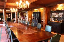 Dining Room, Main Lodge, Tice Ranch