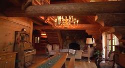Log House Main Room, Tice Ranch