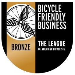 Bicycle Friendly Business Bronze Certified