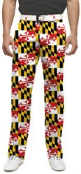 Loudmouth Maryland Flag Pants