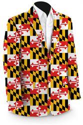 Loudmouth Maryland Flag Jacket
