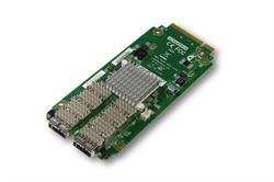 Network Mezzanine Card NMC-4006 Dual 40GbE with Intel XL710 Ethernet Controller