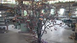 The Memory Tree at the craftsman's shop