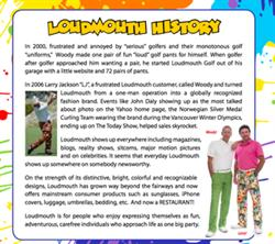 Loudmouth History
