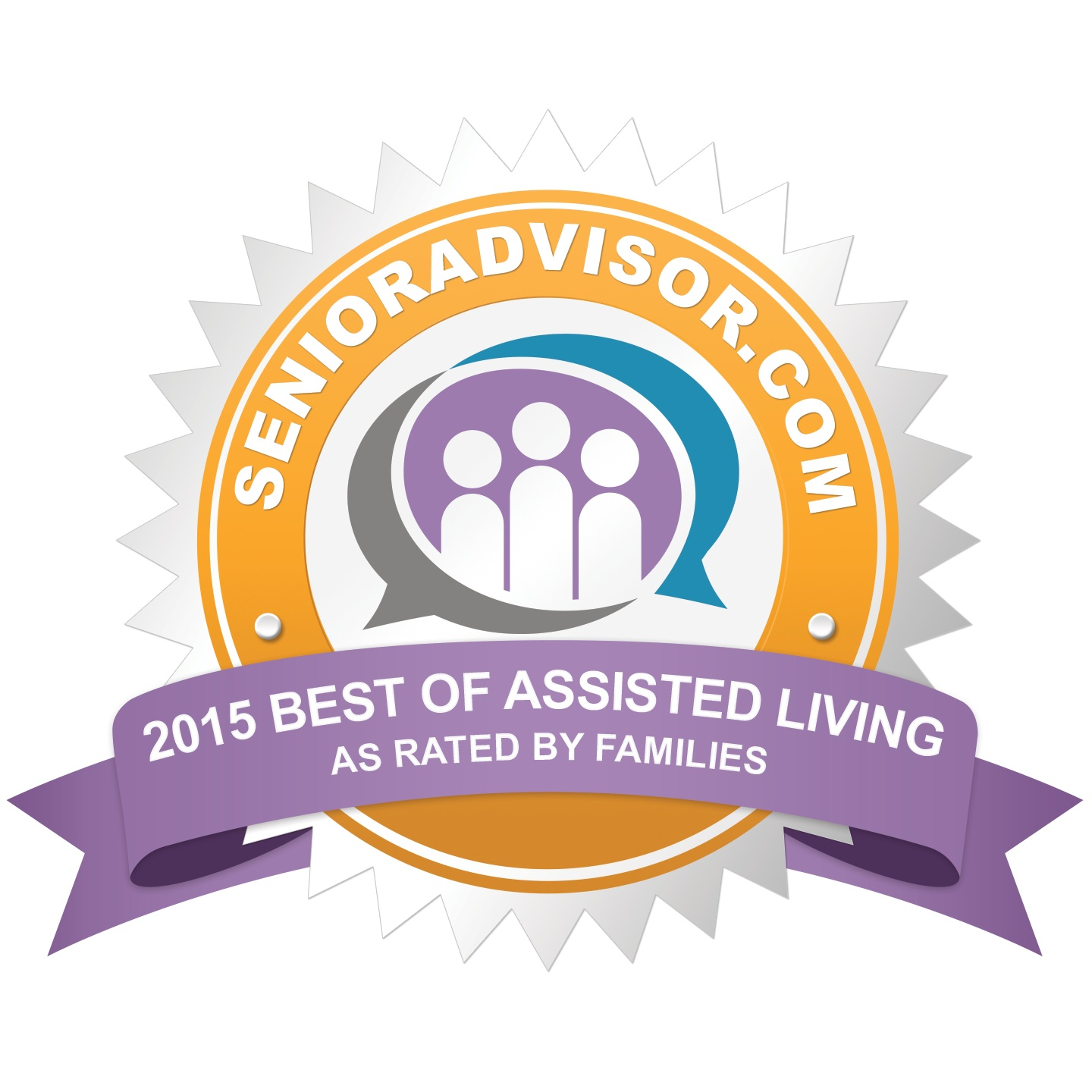 Country Gardens Wins 2015 Best Of Assisted Living Award From