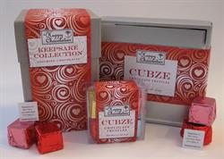 Cubze, chocolate, The Happy Chocolatier, truffle, Valentine