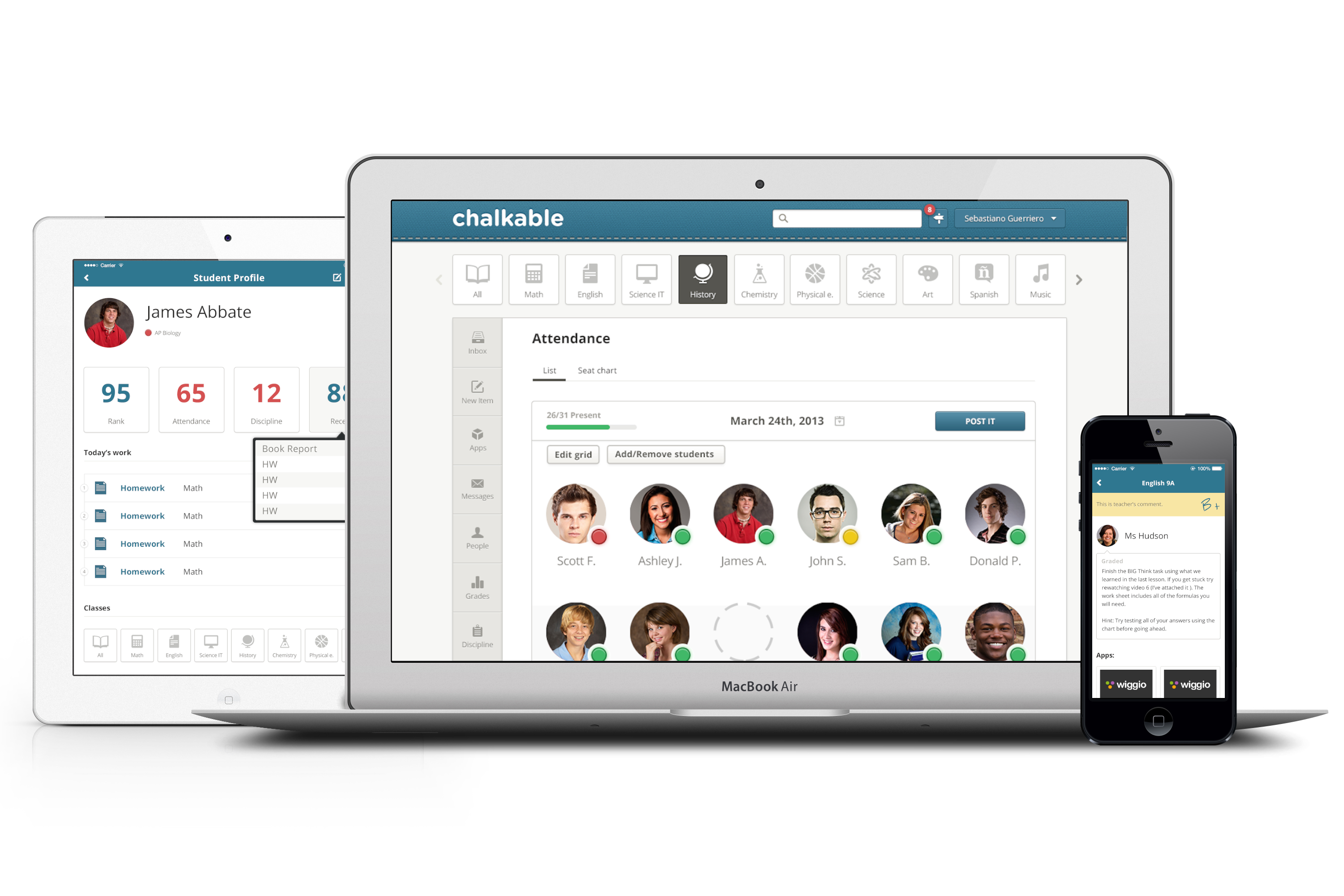 Modern Classroom Tools ~ Chalkable brings modern classroom tools to sti s flagship
