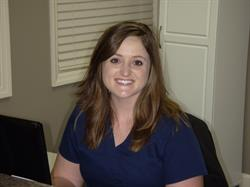 Insurance coordinator Haley West