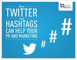"Front cover of tip sheet ""How to Use Twitter and Hashtags"""