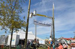 Join PowerStream at Markham Fair Oct. 1-4 for a glimpse at your energy future, home safety tips and a FREE bucket truck ride!