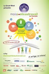 L'affiche du Mois Santé au Travail au Canada 11x17