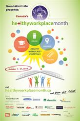 Canada's Healthy Workplace Month Poster 2015 EN