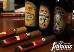 Famous Craft Beer and Cigar Pairing