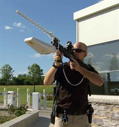 Battelle's DroneDefenderTM is the first portable, accurate, rapid-to-use counter-weapon to stop suspicious or hostile drones in flight.