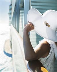 Woman on ship