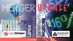Lattice Biologics and Blackstone Ventures Merger Update
