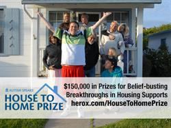 "Autism Speaks ""House to Home Prize Challenge"""