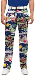 Loudmouth Golf Men's Pants in Golfin' Santa