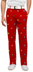 Loudmouth Golf Men's Pants in Deck The Halls
