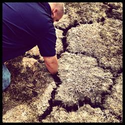 dry clay soil perma pier