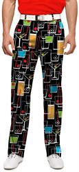 Loudmouth Golf Men's Pants in Happy Hour