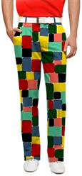 Loudmouth Golf Men's Pants in Technicolor Dream