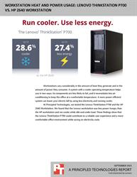 Lower power usage and cooler temperatures can mean big savings.