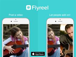 Flyreel - Post videos and let people add on!