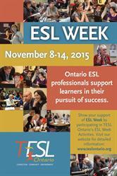 2015 ESL Week Poster