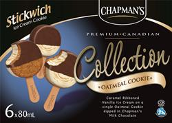 Premium Collection: Oatmeal Stickwich Cookie