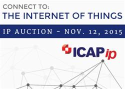 ICAP IP's November 2015 Internet of Things Patent Auction