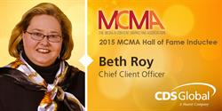 CDS Global's Beth Roy Named to Media Industry Hall of Fame