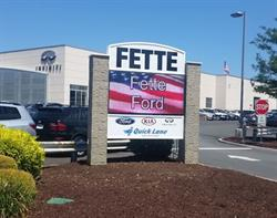 Fette Ford LED Sign