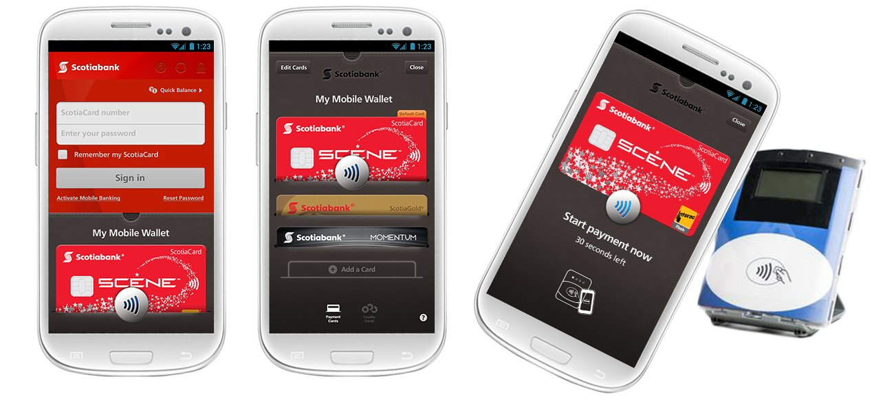 Scotiabank Becomes the First Bank in Canada to Offer a Mobile Wallet ...