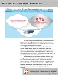 Get more out of your public cloud solution with SoftLayer