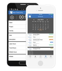 "Bill4Time Time Billing ""At-a-Glance"" Mobile App"