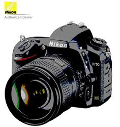 Nikon's D750 DSLR is an FX-format camera well-suited to both still imaging and video recording. Featuring a 24.3MP CMOS sensor, along with the EXPEED 4 image processor, this camera is capable of producing high-resolution imagery with smooth color gradations, low noise, and sensitivity to an expandable ISO 51200, at a continuous rate of up to 6.5 fps.