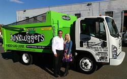 Pete & Cynthia Ybarra, Owners, The Junkluggers of North Dallas
